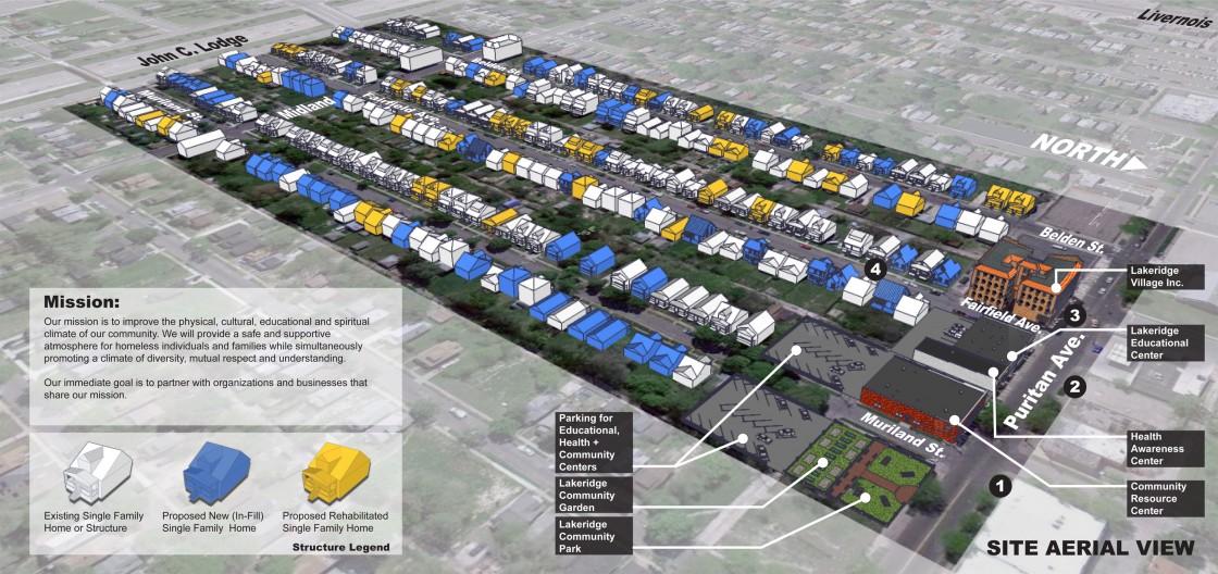 Lakeridge Site Plan
